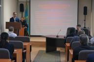 В филиале РГП «Госэкспертиза» по городу Алматы проведен семинар (лекция) на тему: «Обзор изменений законодательства РК в сфере противодействия коррупции. Информация антикоррупционной службы о выявленных коррупционных правонарушениях за 3 месяца (4квартал)